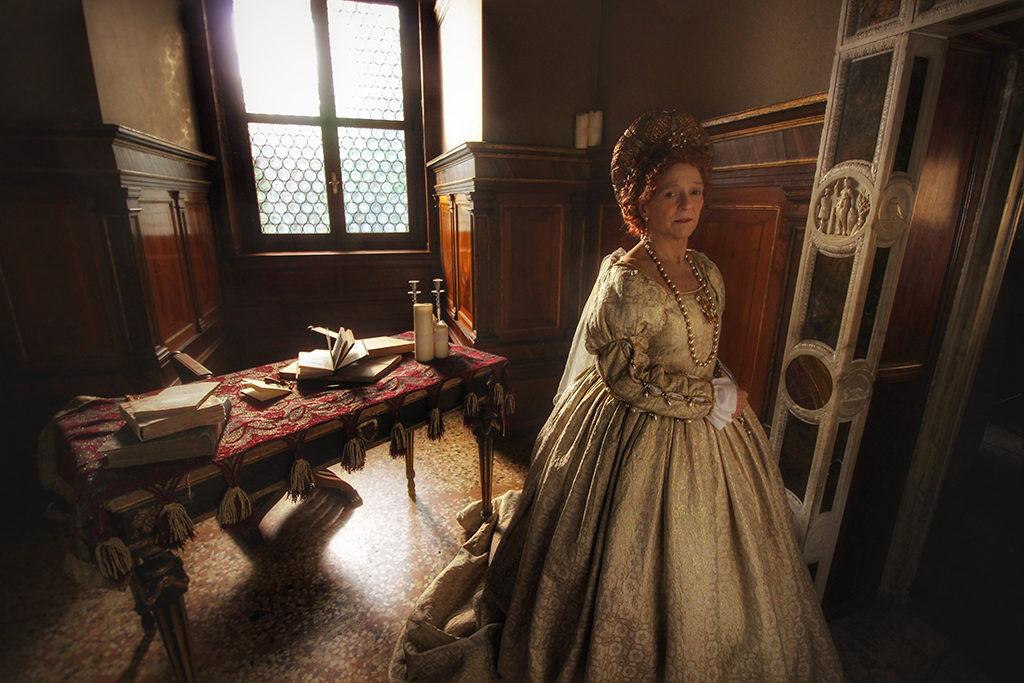 Elisabetta Pozzi è Isabella d'Este